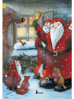 Маленький Дед Мороз взрослеет (книга с небольшим дефектом)