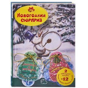 НОВОГОДНИЙ СЮРПРИЗ. 2 новогодние книжки и 12 ёлочных игрушек с весёлыми стихами.